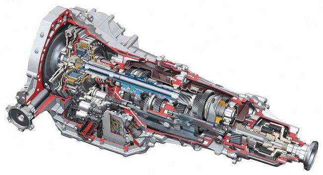 Siedmiobiegowa skrzynia dwusprzęgłowa Audi S Tronic