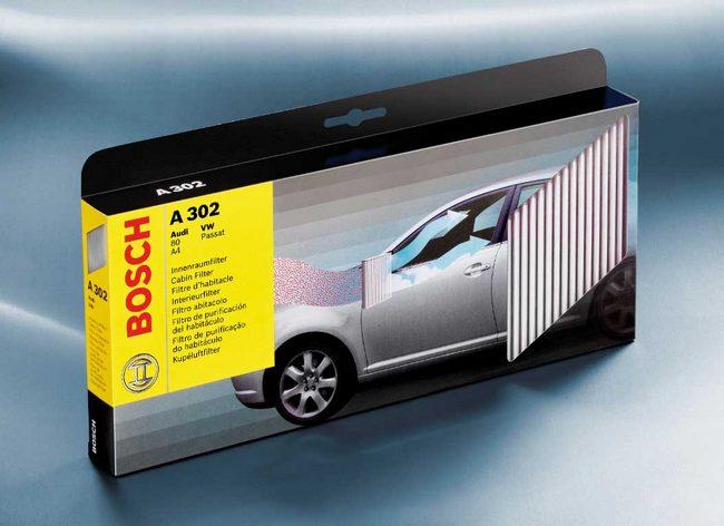 Filtry kabinowe Bosch'