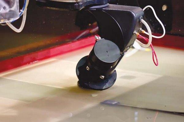 Waterjet może wyciąć praktycznie każdy kształt z wielu rodzajów stali